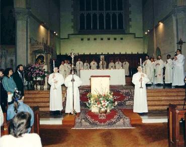 Inauguration Eucharist