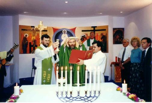 First chapel Eucharist