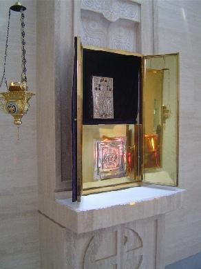 Tabernacle closeup
